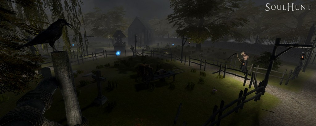 Overview graveyard map