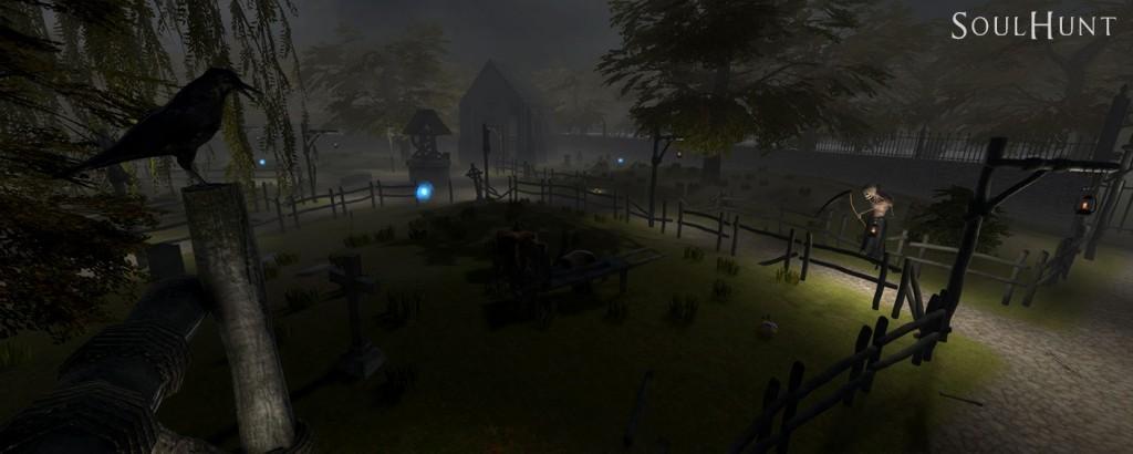Overview graveyard map