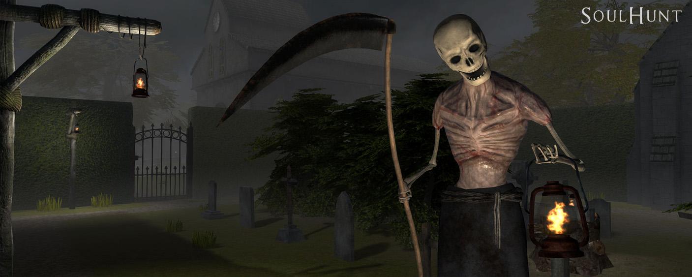 Reaper close up